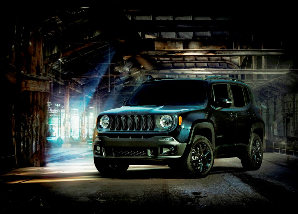 2016 Jeep Renegade 'Dawn of Justice' Special Edition.